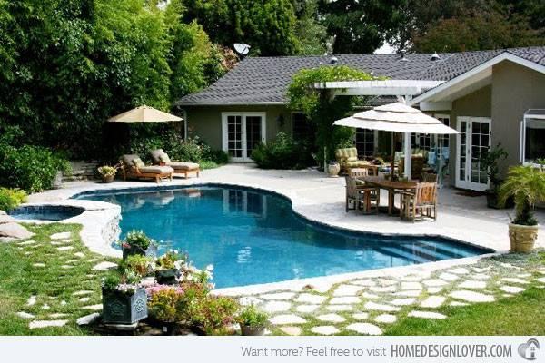 Linya Yard Backyard Pools