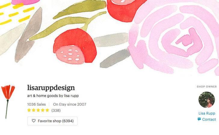 Lisa Rupp Etsy Shop Cover Branding