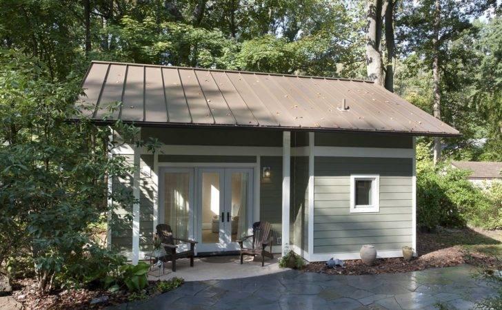 Little Backyard Cottage Art Design Build Small House Bliss