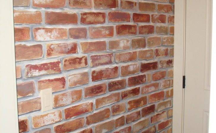 Little Character Love Turned Out Faux Bricks Wall