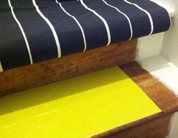 Little Green Notebook Diy Stair Runner Home Pinterest