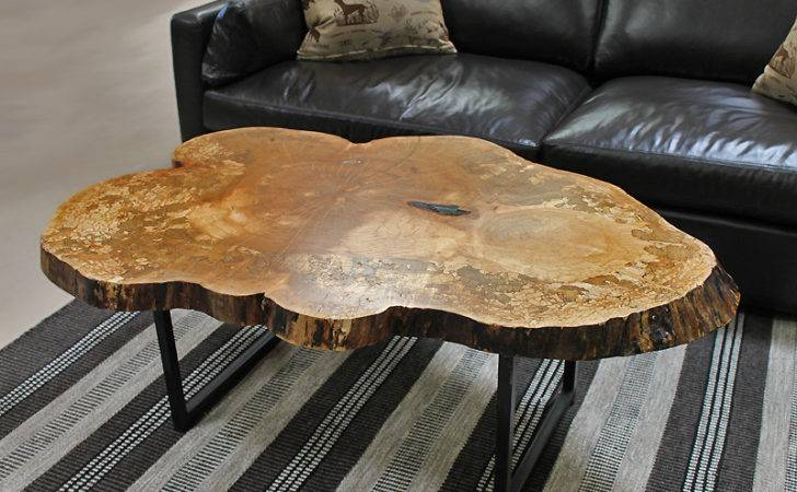 Live Edge Coffee Hall Tables