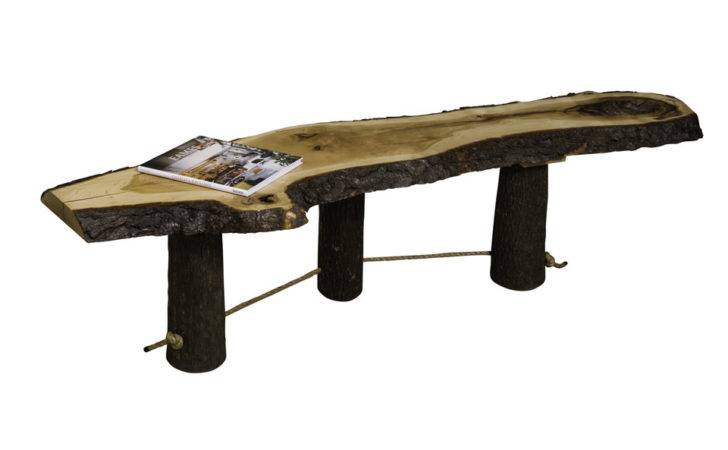 Live Edge Coffee Table Foothills Amish Furniture