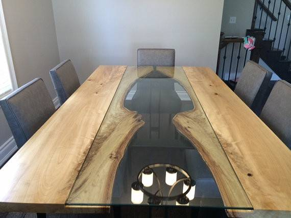 Live Edge Table Reversed Harvest Tables Reclaimed