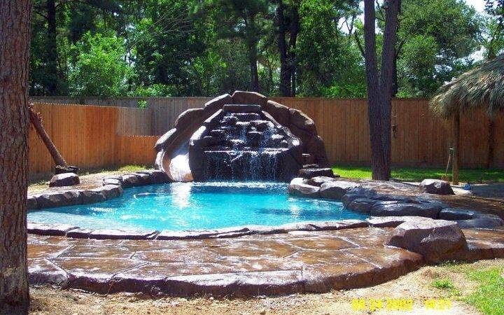 Lively Pool Waterfall Ideas Blow Away