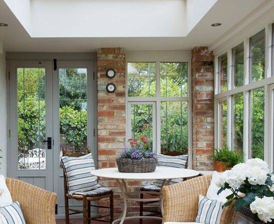 Living Dining Conservatory Country Ideas