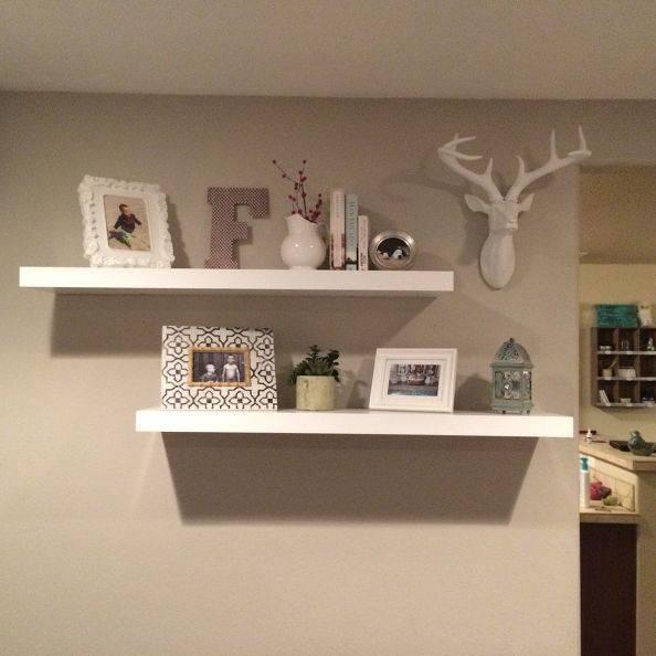 Living Room Design Ideas Floating Shelves Bookshelf