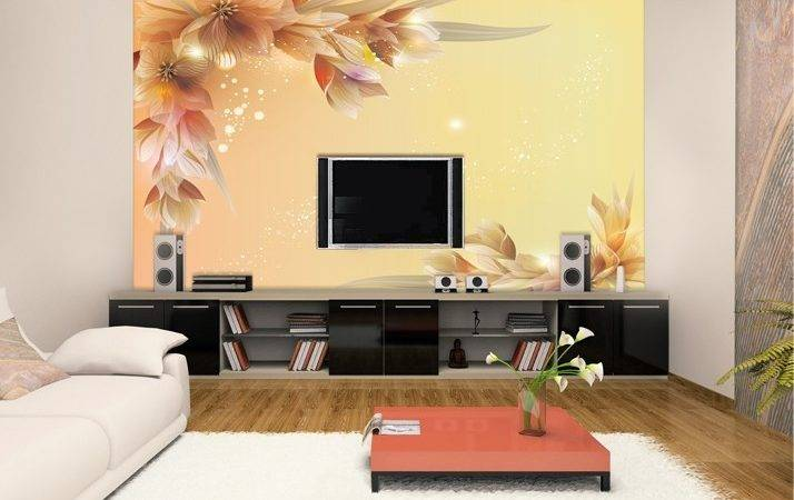 Living Room Designs Wall Paper