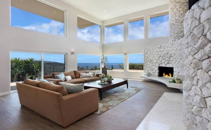 Living Room Fireplace Interior