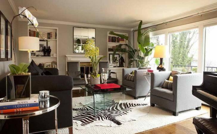 Living Room Furniture Semi Modern Country
