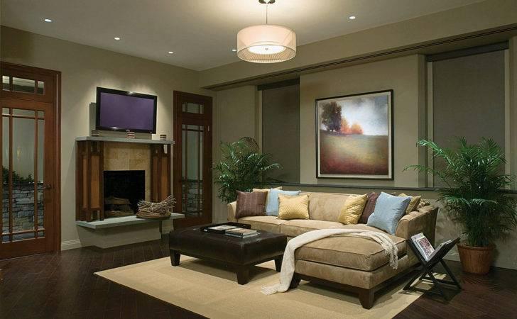 Living Room Lights Few Beautiful Ideas Lighting