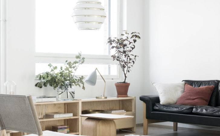 Living Room Nordic Apartment Interior Design Minna Jones
