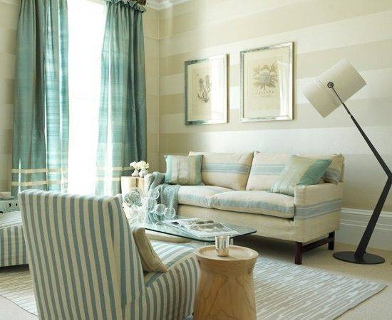 Living Room Striped Ideas Rooms