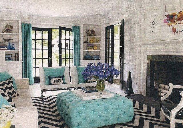 Living Room Turquoise Trending Ideas Pinterest Teal Rooms