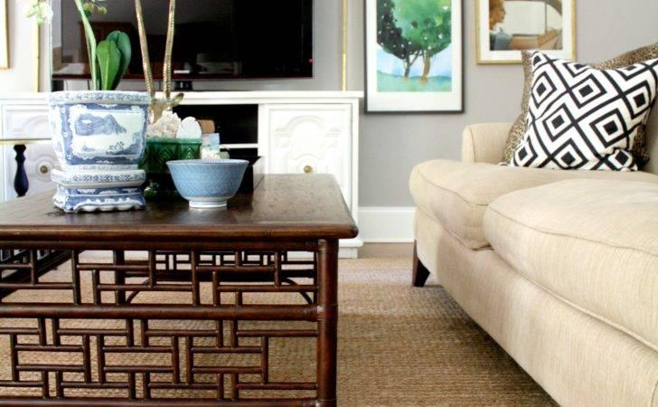 Living Room Wall Fretwork Coffee Table House Decor