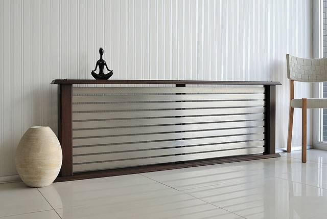 Living Space Modern Radiator Room Montreal