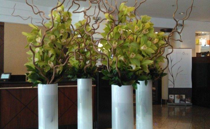 Lobby Flowers Corporate Pinterest