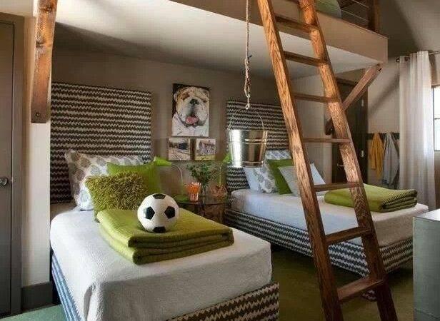 Loft Bunk Beds Kids Room Kidsroom Boys