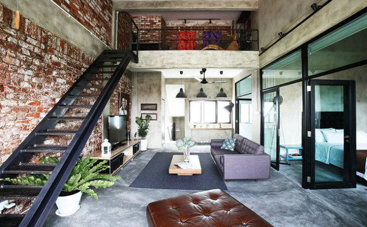 Loft Level House Reclaimed Previously Concealed