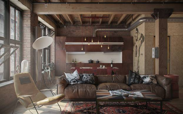 Loft Named Den Nordes Remarkable Its Industrial Design