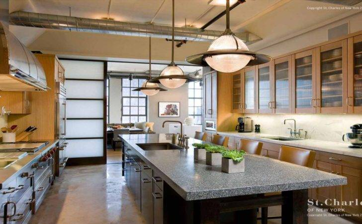 Loft New York Kitchen Design Upcycled Kitchens