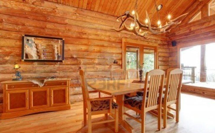 Log Cabin Interior Design Pin Pinterest