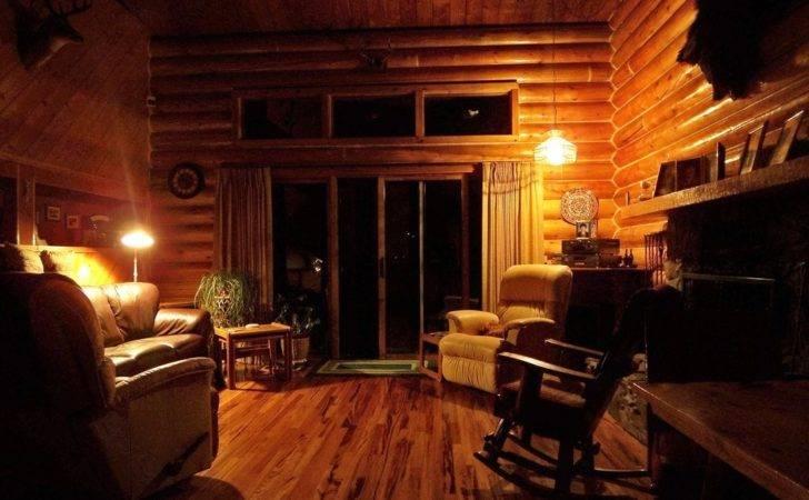 Log Cabin Interior Paul Jerry