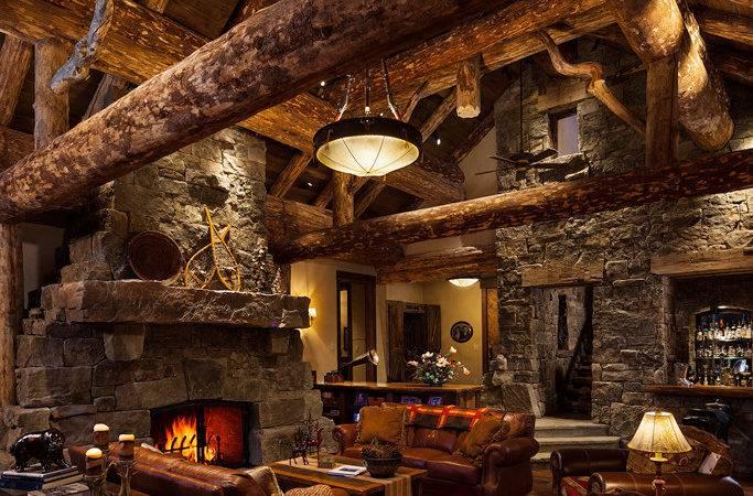 Log Cabin Off Grid World