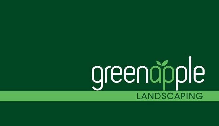 Logo Website Design Green Apple Landscaping