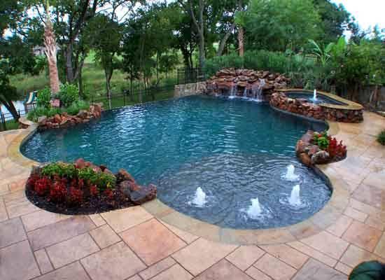 Looking Swimming Pools Paul Camp Custom Design