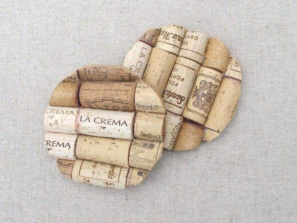 Lot Wine Cork Crafts Coasters Even Few