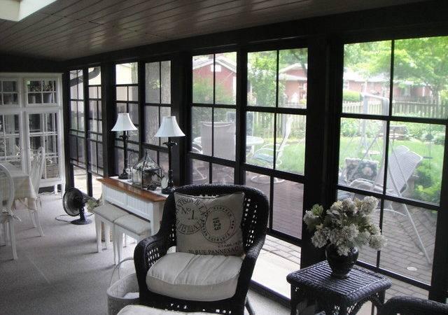 Louis Metropolitan Area After Photos Traditional Sunroom