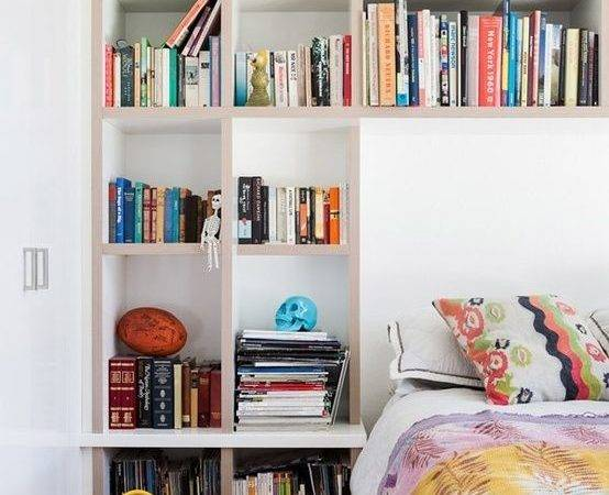 Love All Shelving Around Bed