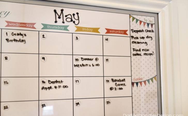 Love Having Large Calendar Keep Track Anything Have