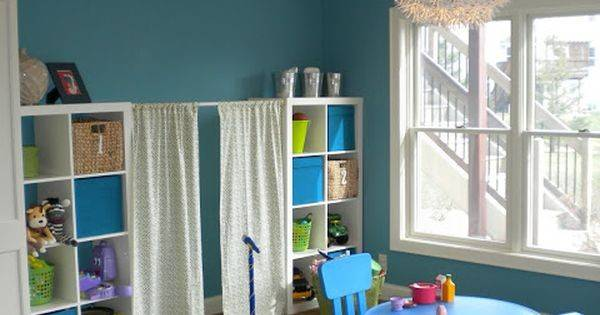 Love Ikea Expedit Storage Curtains Think Would Add