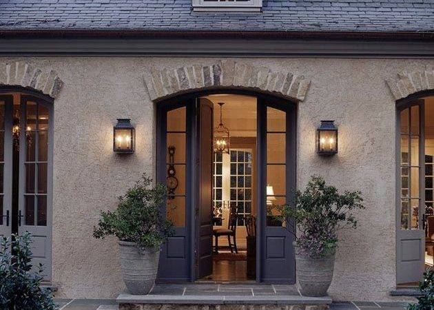 Love Look French Country Old Stone Brick Trim Above Doors