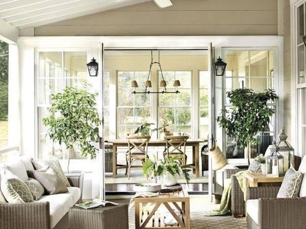 Love Sunny Breakfast Nook Opens Sunroom Enclosed Patio