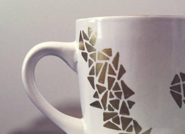 Loved Hello Diy Cent Store Mug Crafts Ideas
