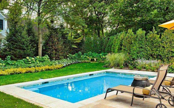 Lovely Pool Stretches Across Just Feet Design Platinum Poolcare
