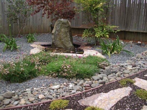 Lovely Stone Still Water Home Japanese Garden