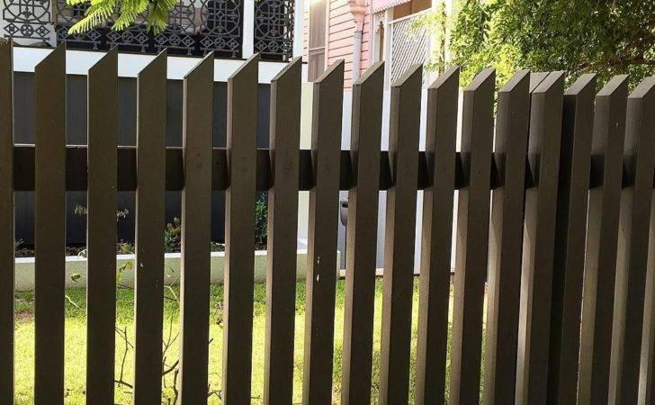 Loving Losp Vertical Slat Fence Angled Top Cut