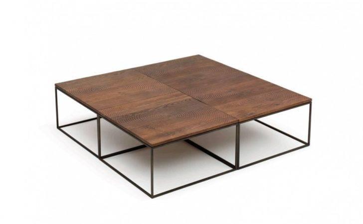 Low Modular Coffee Table Log Linteloo Design Roderick Vos