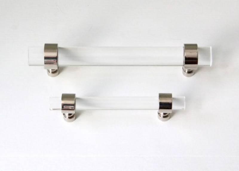 Lucite Drawer Pulls Cabinet Door Knobs