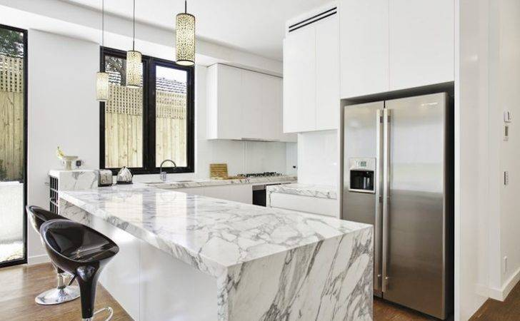 Lux Kitchen Malvern Australia Stone