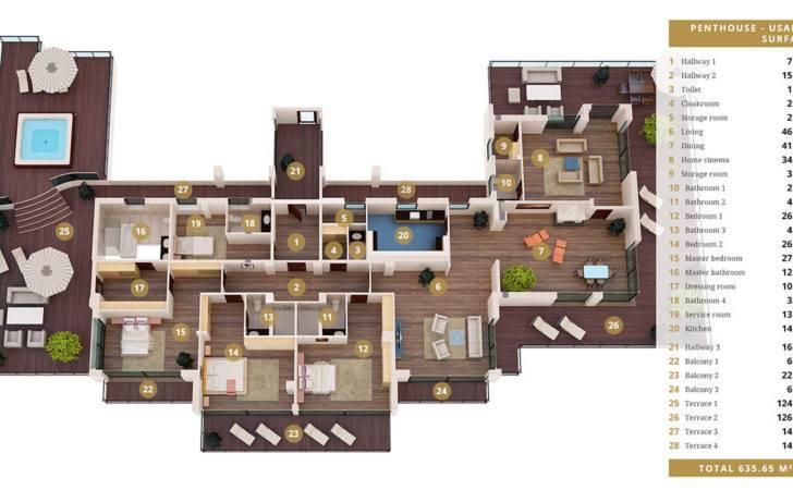 Luxurious Life Superstar Magnificent Penthouse Apartment