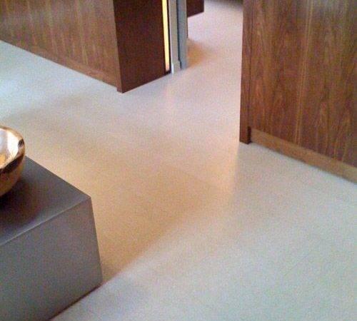 Luxurious White Cork Floor Tiles