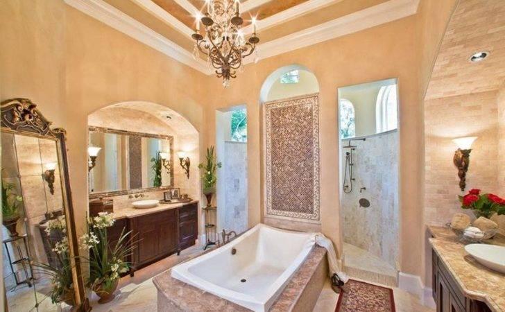 Luxury Bathroom Walk Shower Which Has Two Doors Opening