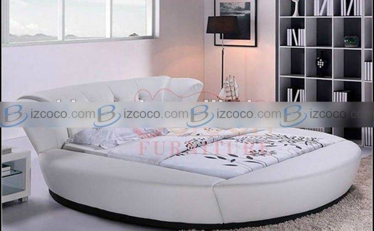 Luxury Bedroom Set Round Bed Sale China Manufacturer Foshan City