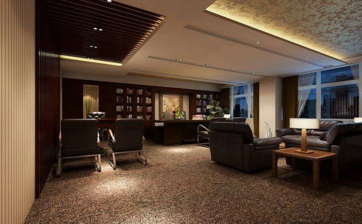 Luxury Ceo Office Modern Retro House