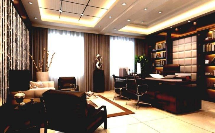 Luxury Ceo Offices Modern Office Interior Design